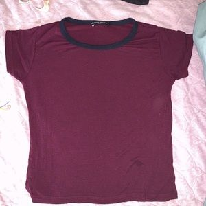 Brandy Melville crop top tee